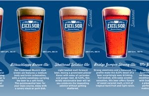 Excelsior Brewing Company Beer Menu