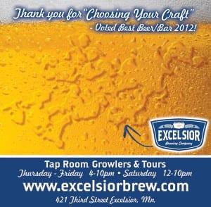 Excelsior Beer Ad