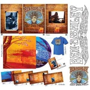 Ben Ashley Self Titled CD Package