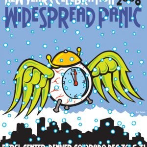 Widespread Panic New Years Eve Art 2008