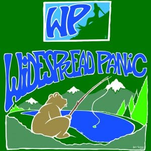 Widespread Panic Bears Gone Fishing Art 2007