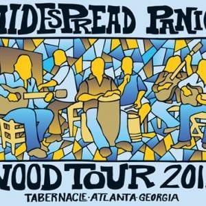 Widespread Panic 2012 WOOD Tour