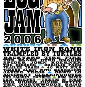 Log Jam 2006 Logo and Poster Layout
