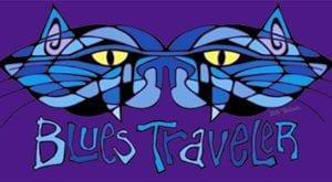 Blues Traveler Batik Cat