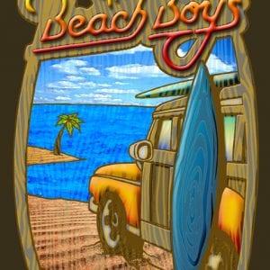 Illustrations-The Beach Boys