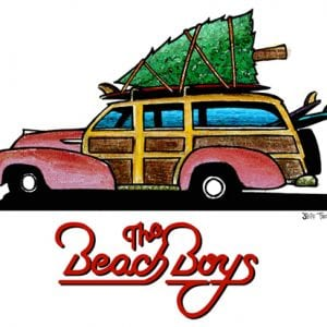 Beach Boys Holiday Art 2006