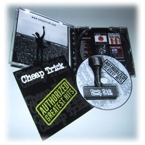 Cheap Trick Authorized CD Packaging