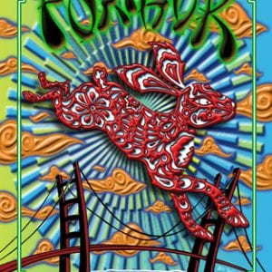 Furthur New Years Eve Lenticular Poster 1 of 3 2011