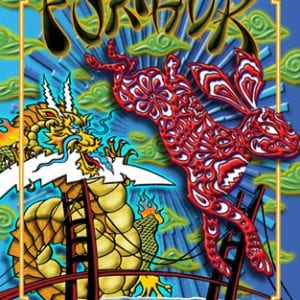 Furthur New Years Eve Lenticular Poster 2 of 3 2011