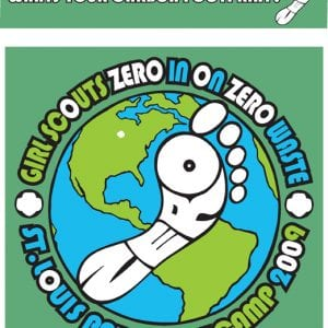 Girl Scouts Of America Zero Waste T-shirt