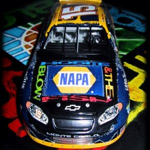 Hootie & The Blowfish Michael Waltrip Nascar Promo Wrap