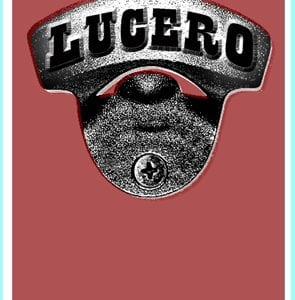 Lucero Tour Poster 2008