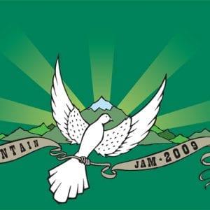 Mt. Jam 2009 T-shirt Art