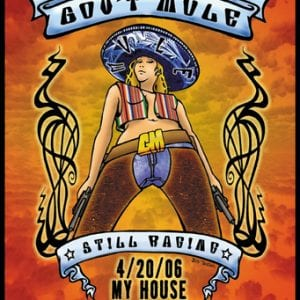 Gov't Mule Still Raging Tour Poster 2006