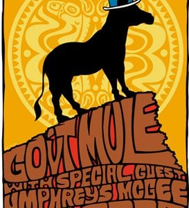 Gov't Mule Red Rocks 2008 Poster