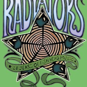 Radiators T-Shirt Art 28th Anniversary 2006