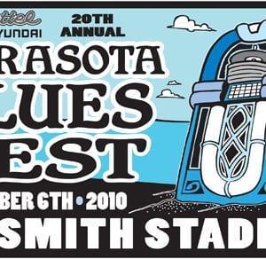 Sarasota Blues Fest 2010 logo