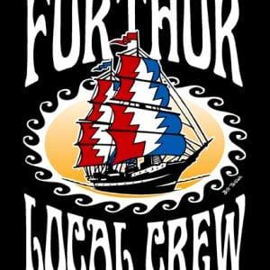Furthur Local Crew T-Shirt Art 2009