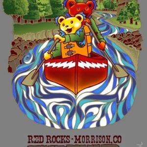 Furthur Red Rocks 2012 T-Shirt