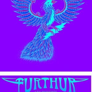 Furthur New years Eve T-shirt Art 2013