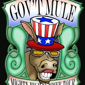 Gov't Mule Mighty High Tour Art 2008