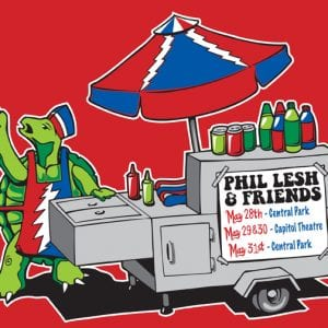 Phil Lesh & Friends Central Park T-Shirt 2014