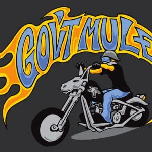 Gov't Mule Motorcycle Shirt Art