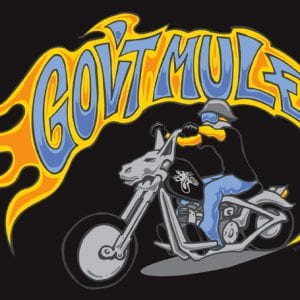 Gov't Mule 2012 Summer Tour T-shirt