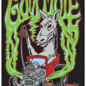 Gov't Mule Fall Tour Poster 2012
