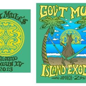 Gov't Mule Island Exodus IV T-shirt 2013
