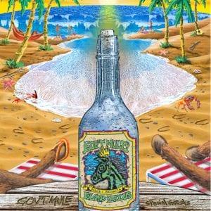 Gov't Mule Island Exodus Jamaica Poster 2014 - Lenticular