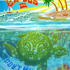 Gov't Mule Jamaica Island Exodus Poster 2012 - Lenticular