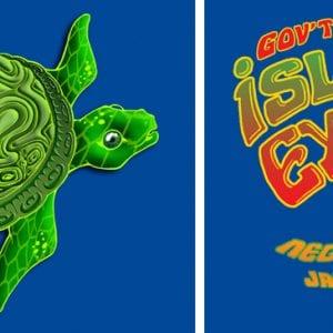 Gov't Mule Island Exodus T-shirt Art 2012