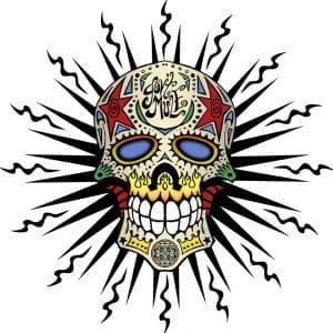 Gov't Mule Skull 2009