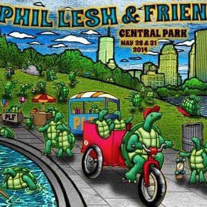 Phil Lesh & Friends Central Park Blanket 2014