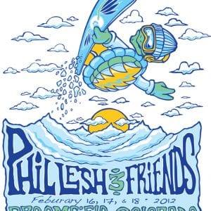 Phil Lesh & Friends Broomfield Colorado 2012 T-Shirt