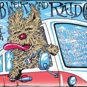 Bob Weir & Ratdog June 2014 Poster