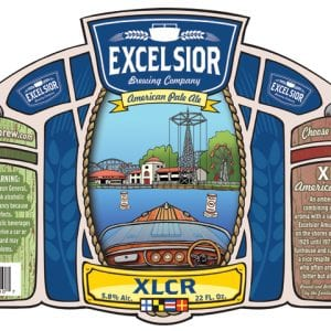 Excelsior Beer XLCR Label