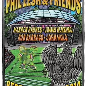 Phil Lesh & Friends Forest Hills Tennis Stadium Admat 2014