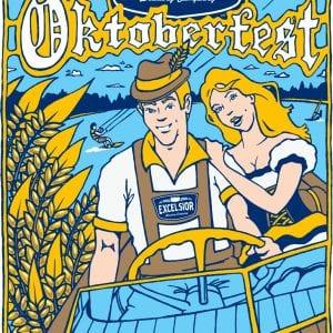 Excelsior Beer Oktoberfest Poster 2012