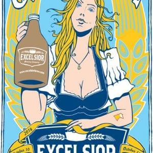 Excelsior Oktoberfest Poster 2014