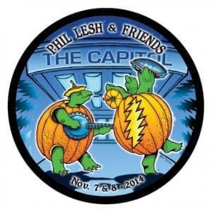 Phil Lesh & Friends Capitol Theatre Coaster Nov. 7&8 2014