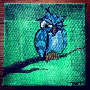 Winkin' Owl