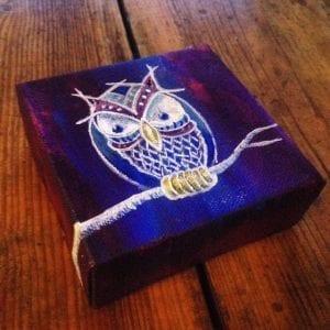 Blu'rple Owl