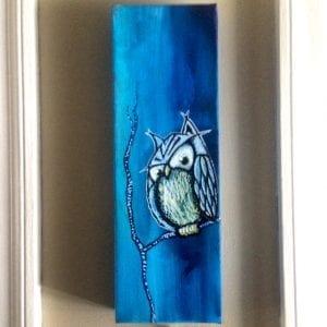 Blue Owl Skinny Tree