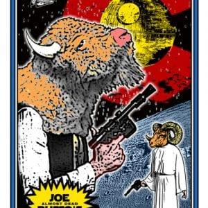 Joe Russo's Almost Dead Denver Fillmore Poster 2015