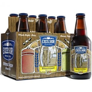 Excelsior Brewing Company Bitteschlappe 6 Packaging and Labels