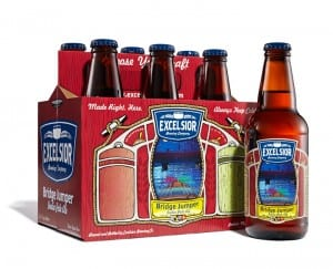 Excelsior Brewing Company Bridgejumper 6 Packaging and Labels