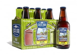 Excelsior Brewing Company XLCR 6 Packaging and Labels