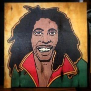 Basement Bar Bob Marley